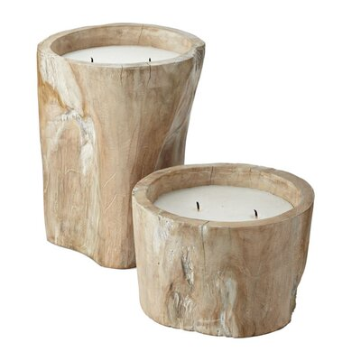 Lazy Susan USA Pepper Log Candle