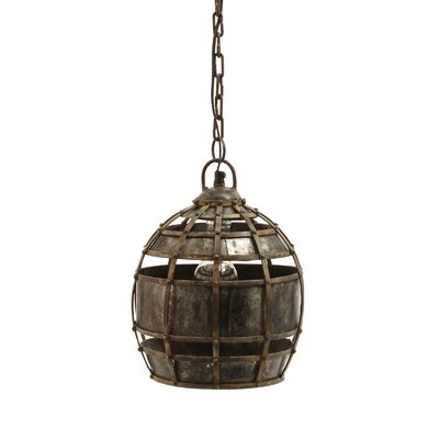 Lazy Susan USA Round Fortress Pendant Light