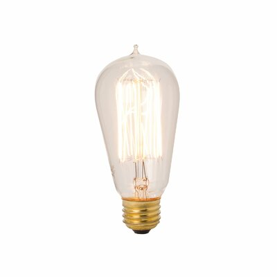 Lazy Susan Exposed Filament Bulb