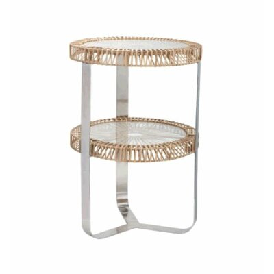 Lazy Susan USA Split End Table