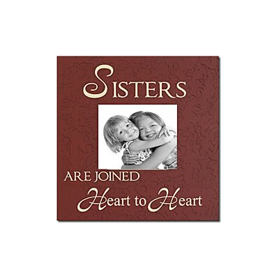 Forest Creations Sisters Are Joined Heart To Heart Home Frame