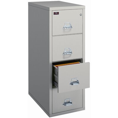 Fire King Four-Drawer Legal Protection Plus Safe-In-A-File