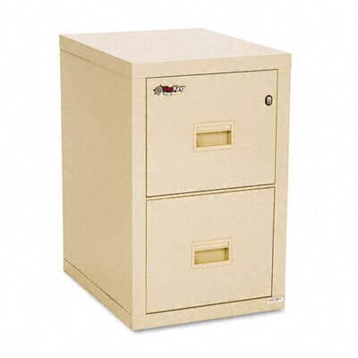 Fire King Turtle 2-Drawer File