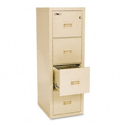 Fire King Turtle 4-Drawer File, Ul Listed 350 for Fire