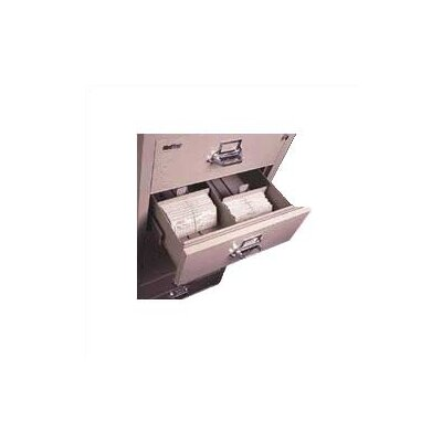 Fire King 6-Section Lateral File Document Insert for 3&quot; H x 5&quot; W Cards