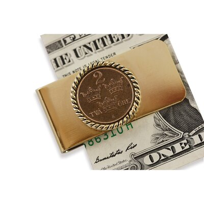 American Coin Treasures Swedish Coin ORE Crown Money Clip
