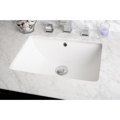 Rectangular Undermount Bathroom Sink - IMG540N