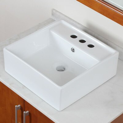 Ceramic Vessel Bathroom Sink - IMG-438 / IMG-439