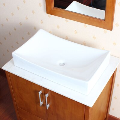 Ceramic Vessel Bathroom Sink - IMG-226