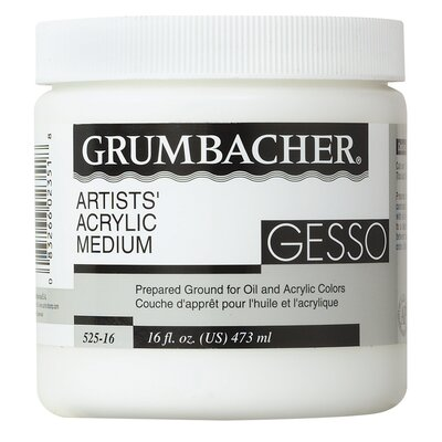 Grumbacher Oil and Acrylic Color Gesso