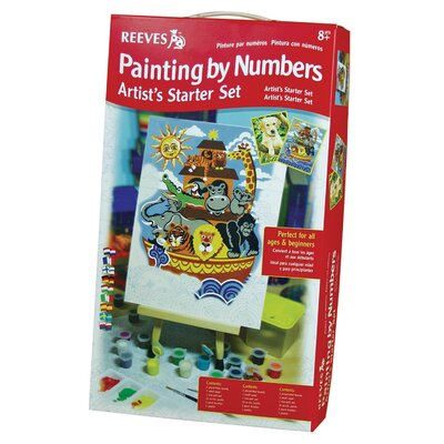 Reeves Paint By Numbers Starter Intermediate Painting