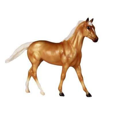 Reeves Breyer Palomino Thoroughbred/Quarter Horse Cross