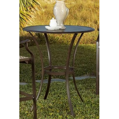 Panama Jack Outdoor Island Breeze Round Pub Table