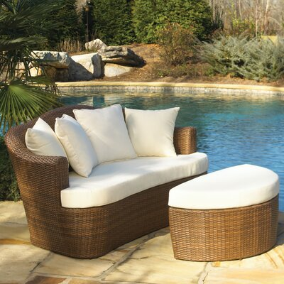 Panama Jack Outdoor Key Biscayne Daybed with Cushion