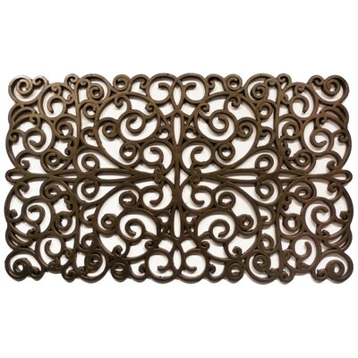 Home & More Scroll Doormat