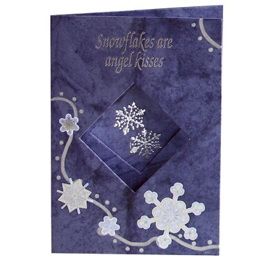 Sticko Vellum Snowflakes Sticker