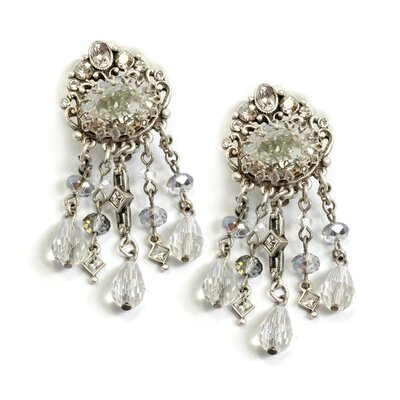 Sweet Romance 1920s Speakeasy Drop Earrings