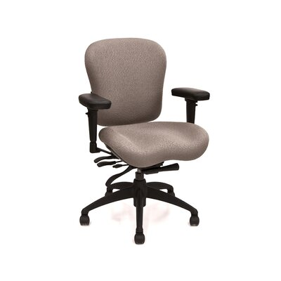 Mid-Back Eclipse Deluxe Executive Chair with Arms