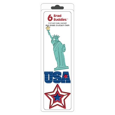 Hot Off the Press Brad Buddies USA Brad (Set of 6)