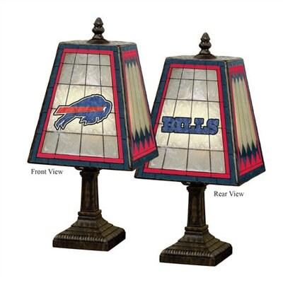 "The Memory Company NFL 14"" Art Glass Table Lamp"