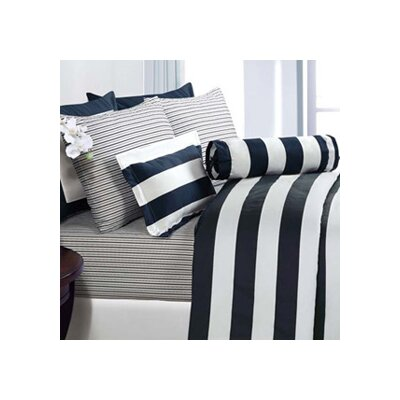 Echelon Home Cabana Stripe Duvet Cover Set