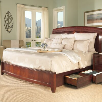 Modus Furniture Brighton Storage Panel Bed Set
