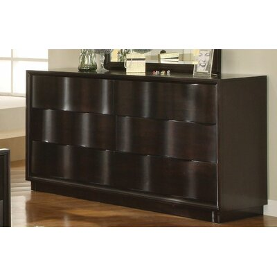 Modus Modus Maui Wave 6 Drawer Dresser