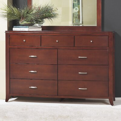 Modus Furniture Brighton 9 Drawer Dresser