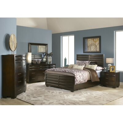 Modus Furniture Contour 4 Drawer Storage Panel Bedroom Collection