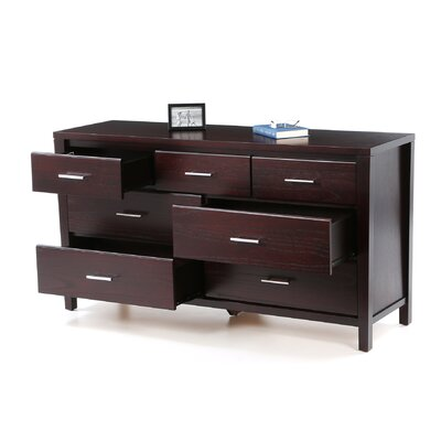 Modus Furniture Nevis 7 Drawer Dresser