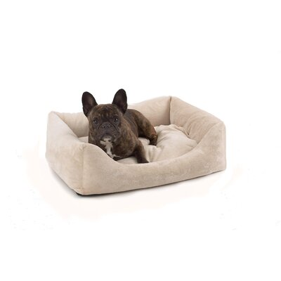Plush Bumper Pet Bed