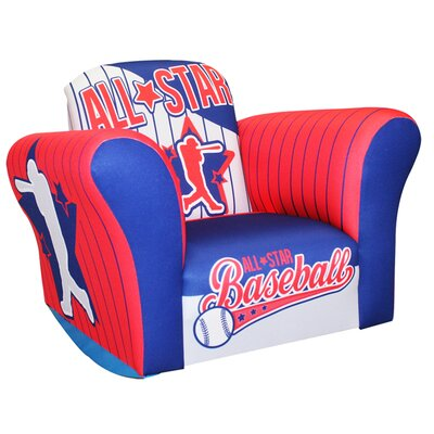 Baseball All Star Small Standard Rocker
