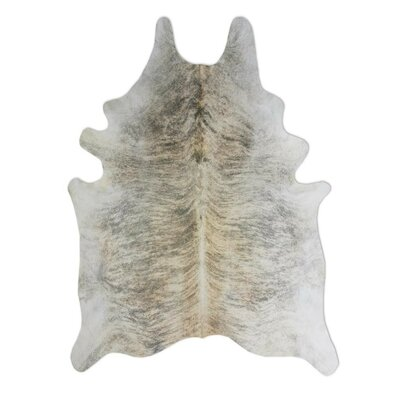 Pure Rugs Natural Cowhide Exotic Zebu Rug
