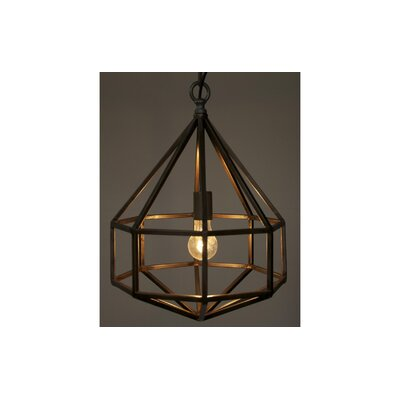Diamond 1 Light Foyer Pendant