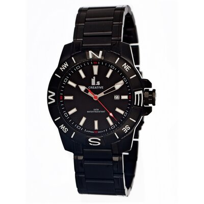 IS Creative Stainless Steel Men's Watch