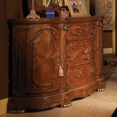 Cortina 3 Drawer Combo Dresser