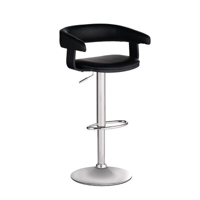 Sergio Faux Leather Adjustable Barstool