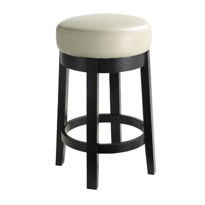 Sunpan Modern Cedric Bonded Leather Swivel Stool