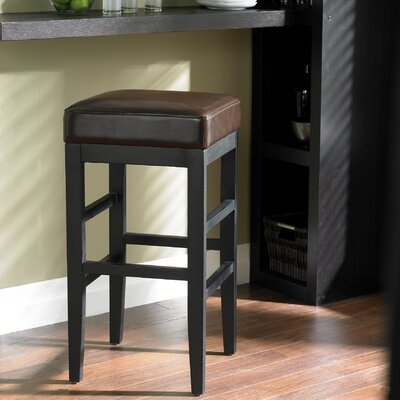 Sunpan Modern Jacob Bonded Leather Stool