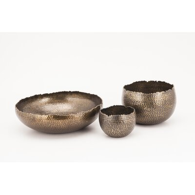 Fashion N You by Horizon Interseas Jagged Edge Bowls (Set of 3)