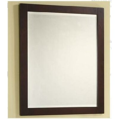 "Empire Industries Monaco 27"" Vanity Mirror in Dark Cherry"