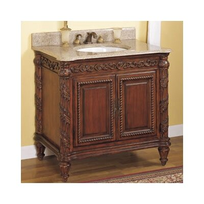 Tuscan bathroom vanities solid wood tuscan style for Tuscan bathroom vanity cabinets