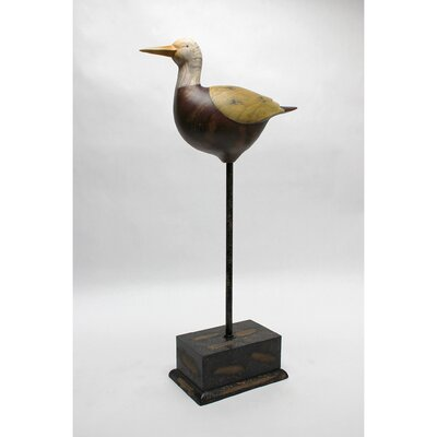 Vita V Home Shore Bird White Pelican with Base