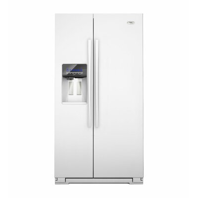 Whirlpool 26 cu. ft. In-Door-Ice System Side-By-Side Refrigerator