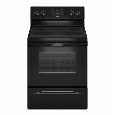 "Whirlpool 4.8 cu. ft. 9""/6"" Dual Radiant Element Electric Range"