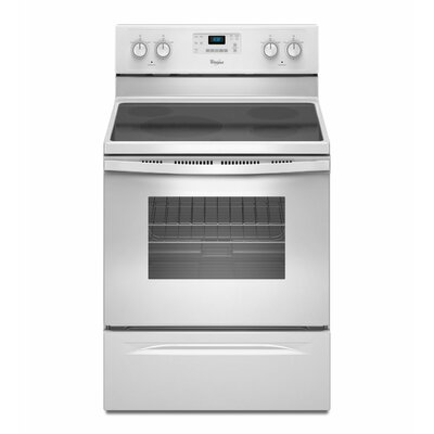 Whirlpool 5.3 cu. ft. Steamclean Option Electric Range