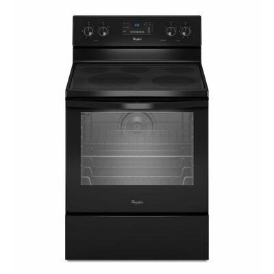 6.2 cu. ft. Aqualift Self-Clean Technology Electric Range