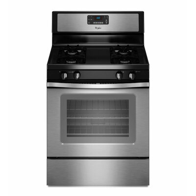 Whirlpool 5.0 cu. ft. Accubake Temperature Management System Gas Range
