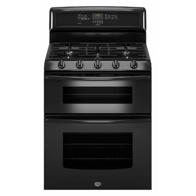 Maytag Gemini EvenAir Convection Gas Double Oven Range