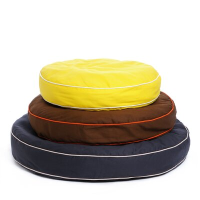 Waggo Colorblocker Circle Dog Bed